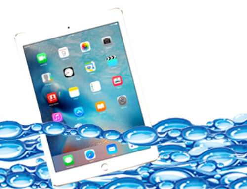 iPad in the iTub – uh oh…