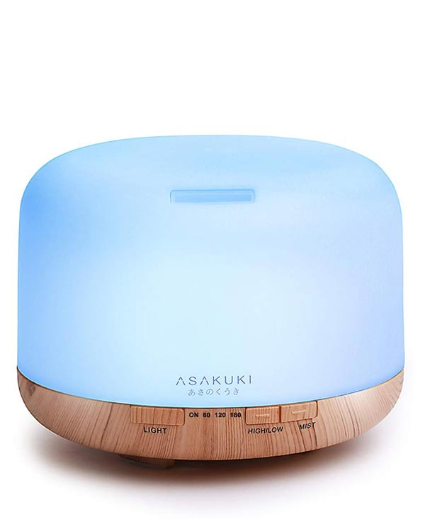 Asakuki Essential Oil Diffuser - The Bathtub Diva
