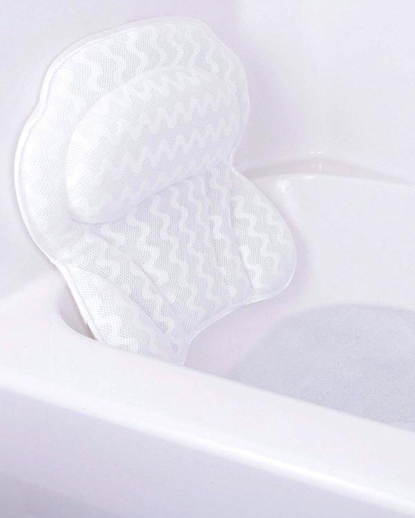 Pure Indulgence Luxury Bath Pillow - The Bathtub Diva