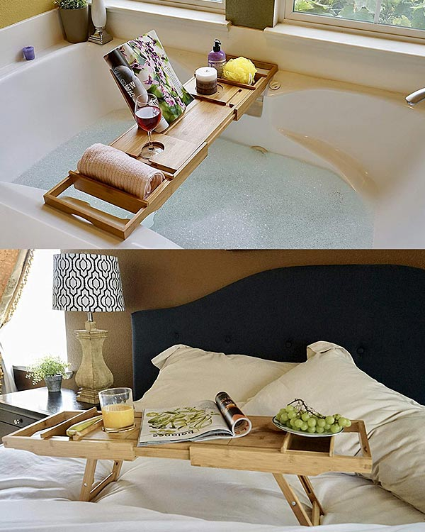 Bed Table & Bathtub Tray - The Bathtub Diva