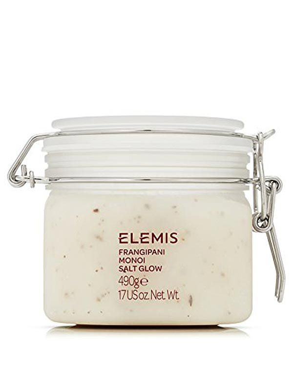 Elemis Frangipani Monoi Salt Body Scrub - The Bathtub Diva