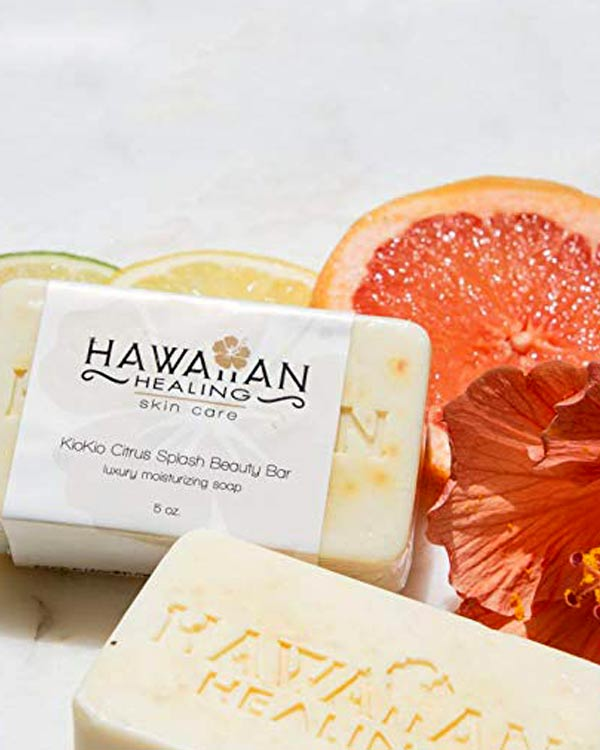 Hawaiian Healing KioKio Citrus Soap - The Bathtub Diva