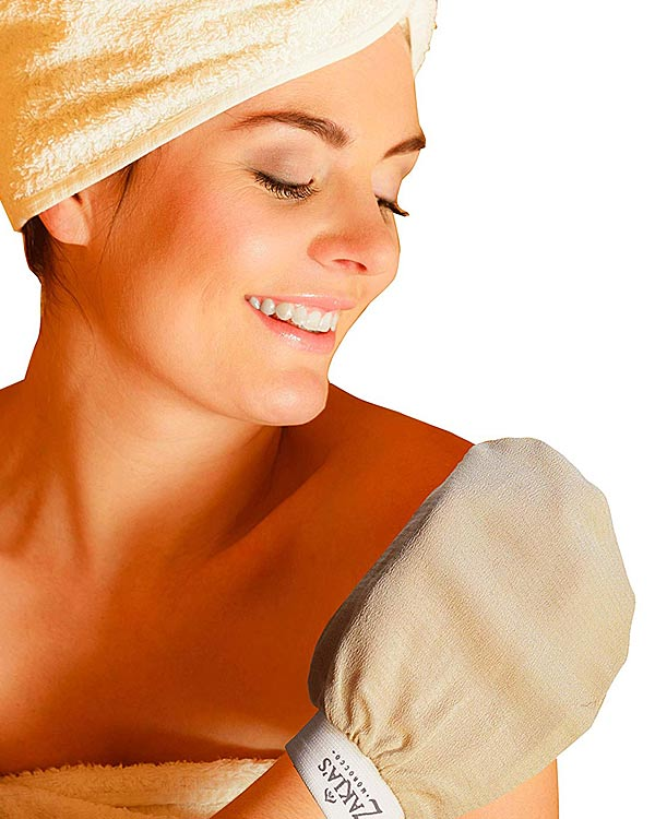 Kessa Hammam Exfoliating Glove - The Bathtub Diva