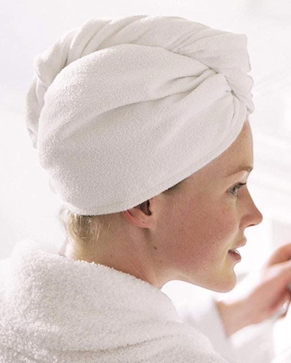 Microfiber Hair Turban - The Bathtub Diva