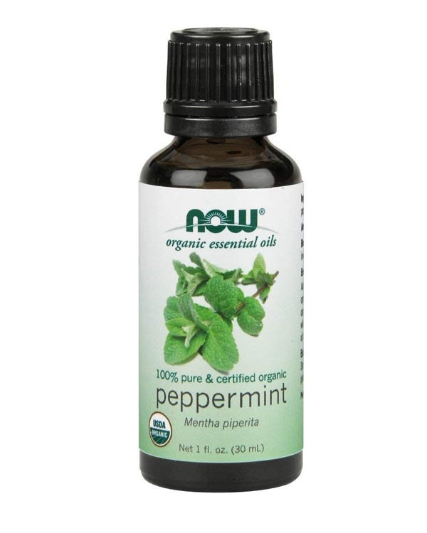 NOW Organic Peppermint Oil - The Bathtub Diva
