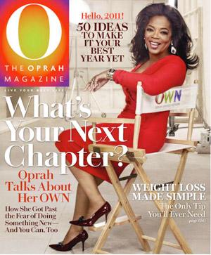 Oprah January Issue