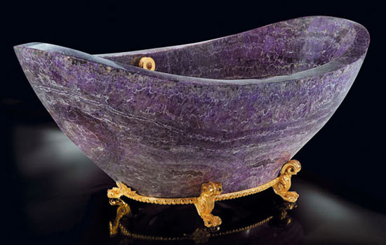 Amethyst Bath Tub - The Bath Tub Diva