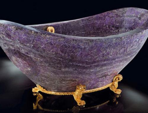 Amethyst Bath Tub!