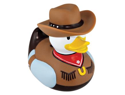 Cowboy Rubber Duck - The Bath Tub Diva