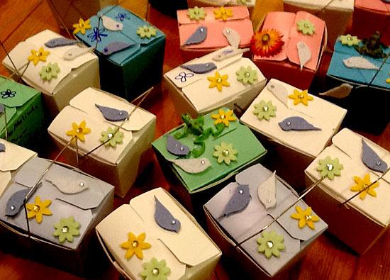 Ju Ju Bath Salt Boxes - The Bath Tub Diva