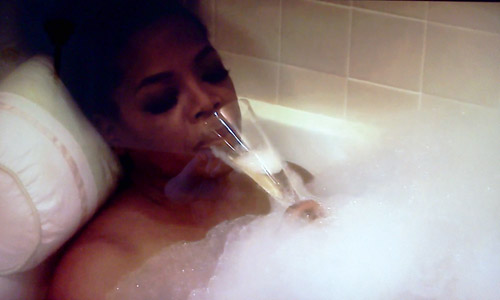 Oprah After Dark - Oprah in a bubble bath