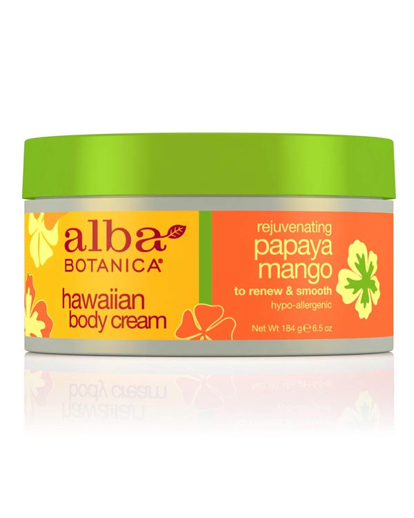 Alba Botanica Papaya Mango Body Cream - The Bathtub Diva
