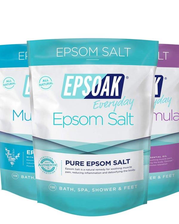 Epsoak Epsom Salt Bath 3 Pack - The Bathtub Diva