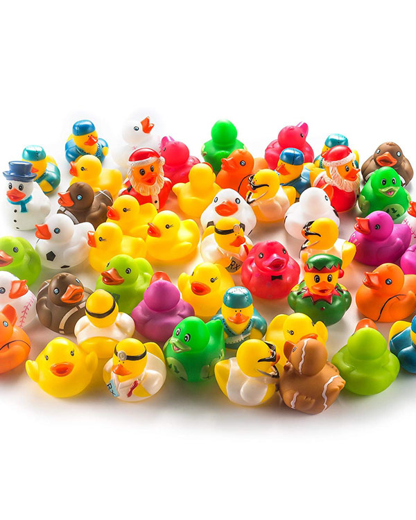 Miniature Rubber Ducks - The Bathtub Diva
