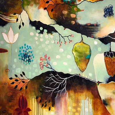 Flora Bowley Bloom True Painting The Bathtub Diva