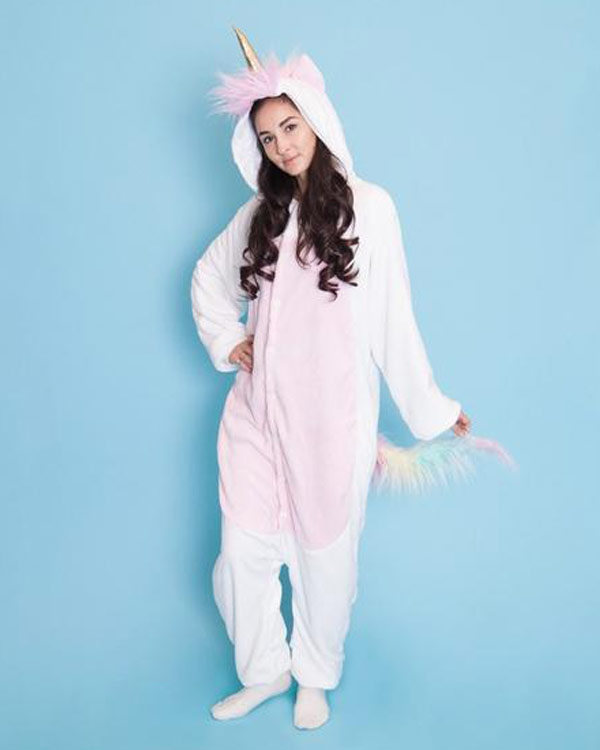 Unicorn Fleece Onsie - The Bathtub Diva