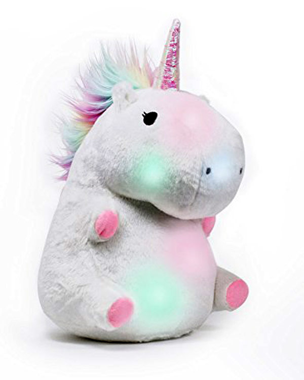 Unicorn Glow Pillow - The Bathtub Diva