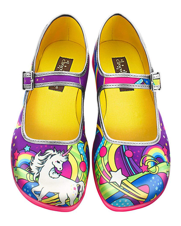 Unicorn Mary Jane Shoes - The Bathtub Diva