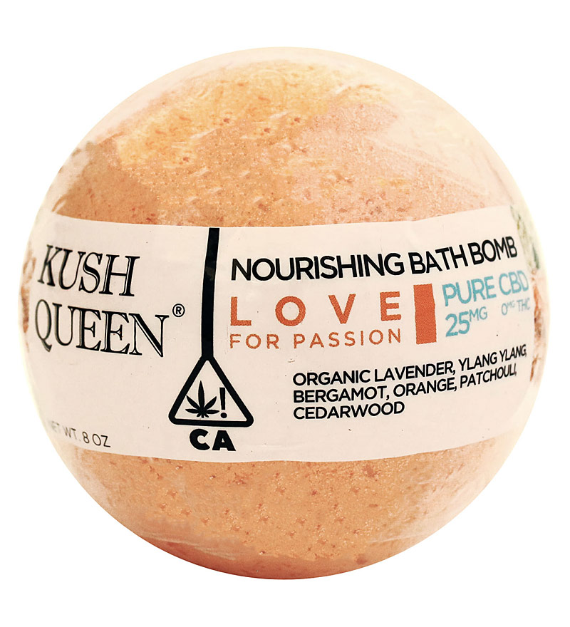 CBD Kush Queen Bath Bombs - The Bathtub Diva