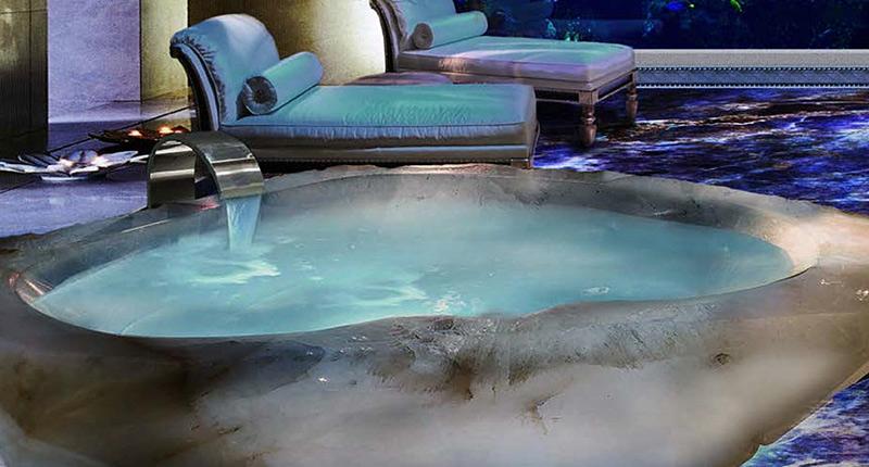Luxury crystal bathtub - The Bathtub Diva