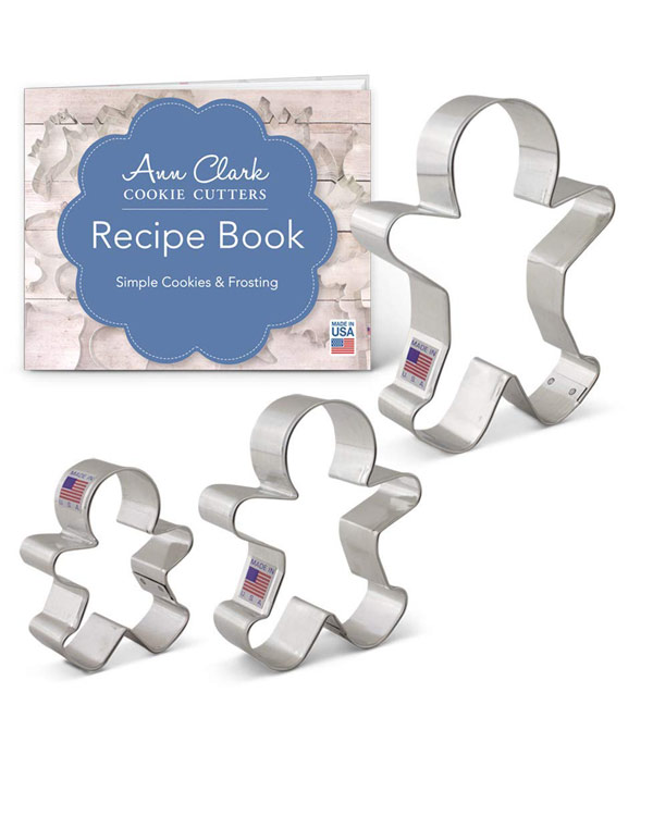 Gingerbread Cookie Cutters - The Bathtub Diva