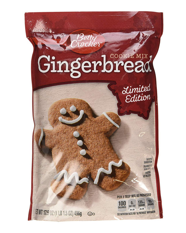 Gingerbread Cookie Mix - The Bathtub Diva