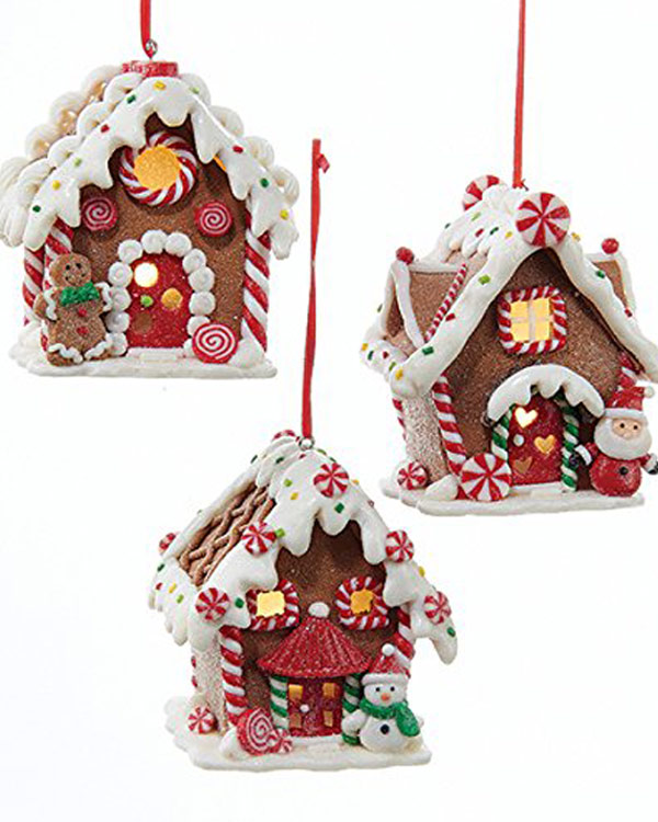 Gingerbread House Ornaments - The Bathtub Diva
