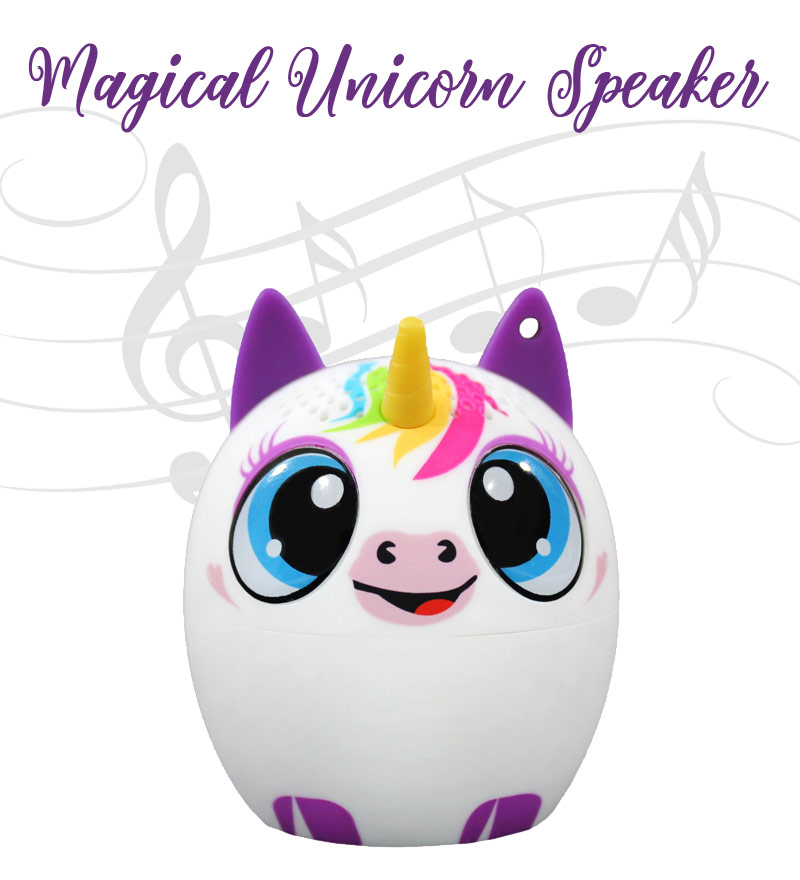 My Pet Audio Mini Unicorn Speaker - The Bathtub Diva